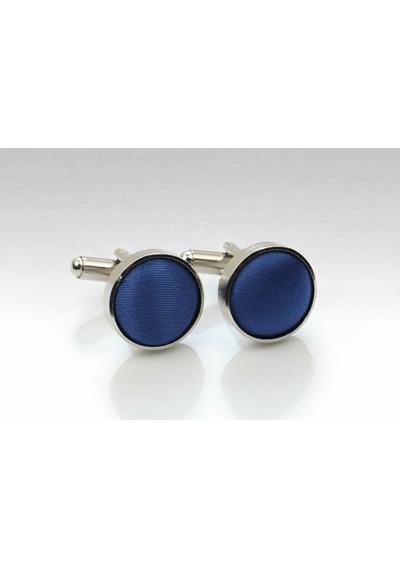 Royal Blue Fabric Cufflinks
