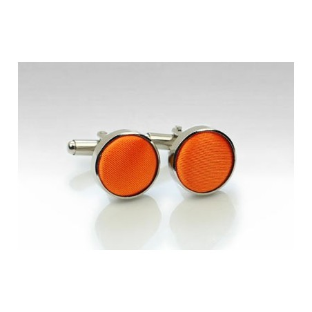 Bright Orange Cufflinks