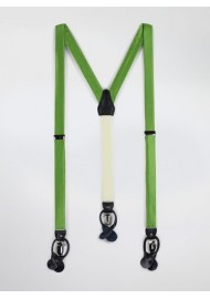 Fern Green Mens Suspenders