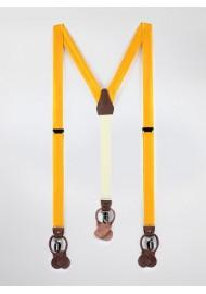 Golden Colored Mens Suspenders