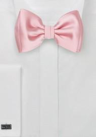 Petal Pink Kids Bow Tie