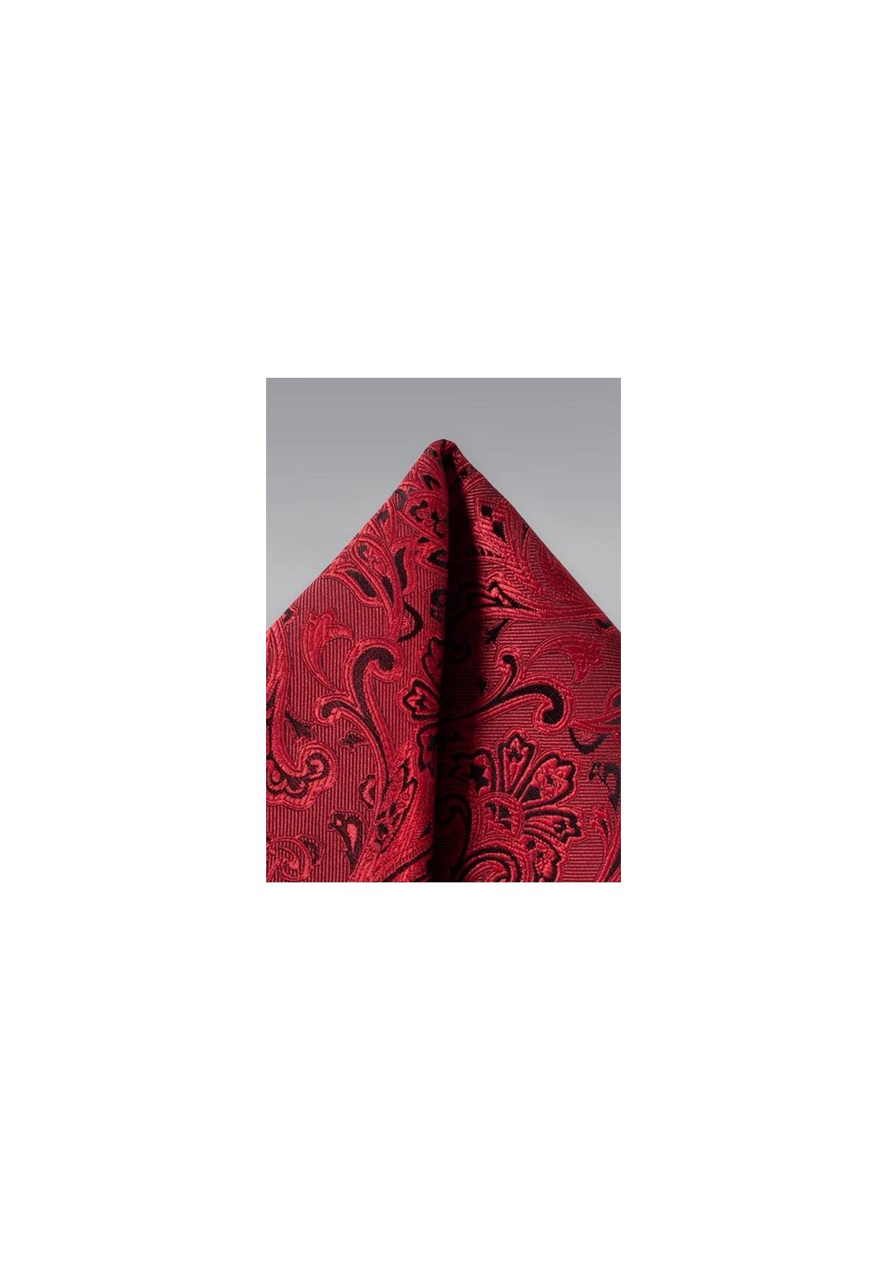 Pocket Hanky in Ruby Red