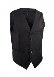 charcoal gray mens suit vest