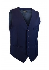 classic navy blue suit vest