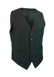 hunter green suit vest