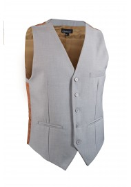 light grey vest