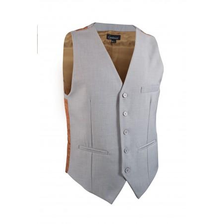 light grey vest