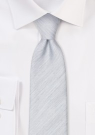 Mystic Gray Heather Necktie