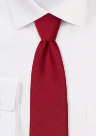 Slim Cut Sedona Red Mens Tie
