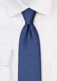 Modern Slate Blue Tie