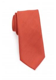 Matte Woven Tie in Cinnamon Rolled