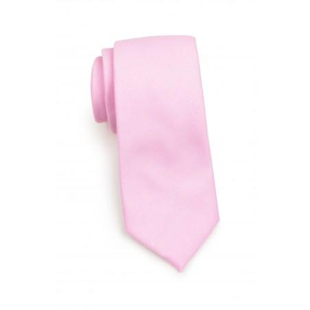Tickled Pink Spring and Summer Necktie Rolled