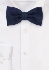Nuanced Midnight Bow tie