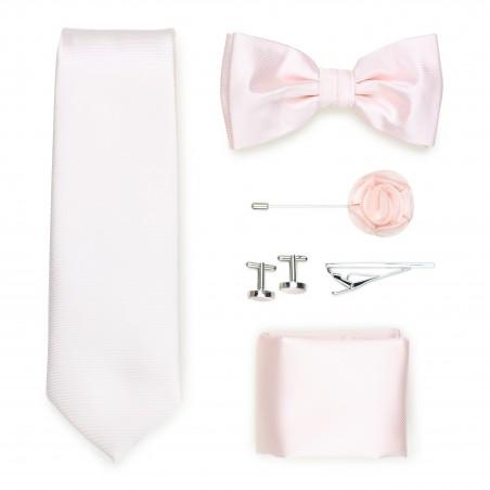 formal wedding tie menswear set