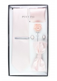 wedding menswear set in blush pink
