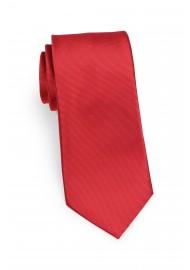 cherry red mens tie in slim cut