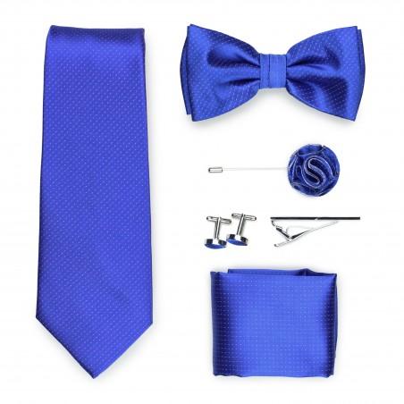 royal blue menswear gift set