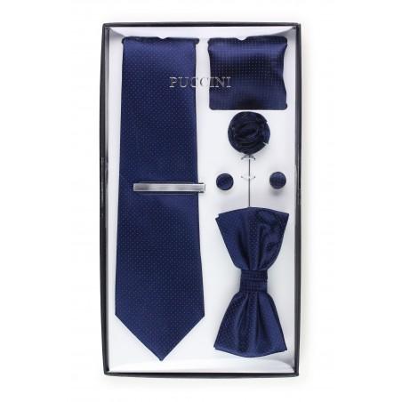 wedding mens gift set in navy