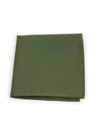 Woolen Hanky in Olive Green