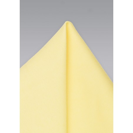 Lemon Chiffon Pocket Square