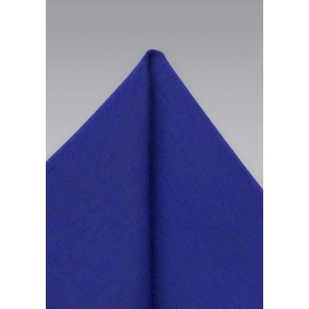 Ultramarine Pocket Square