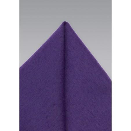 Royal Grape Pocket Hanky