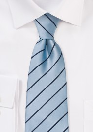 Light Blue Neckties - Modern light blue tie