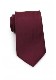 Matte Sheen XL Length Tie in Maroon