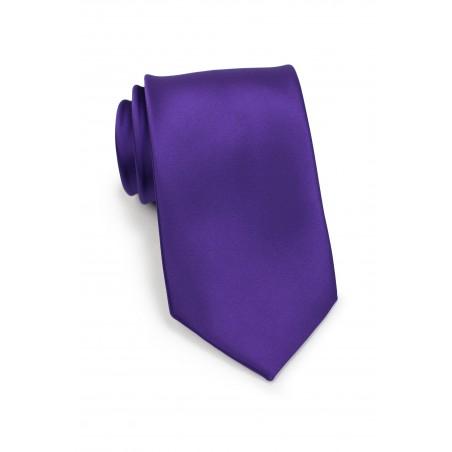 Regency Purple Tie in Extra Long