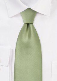 Solid Kids  Tie in Light Jade Green