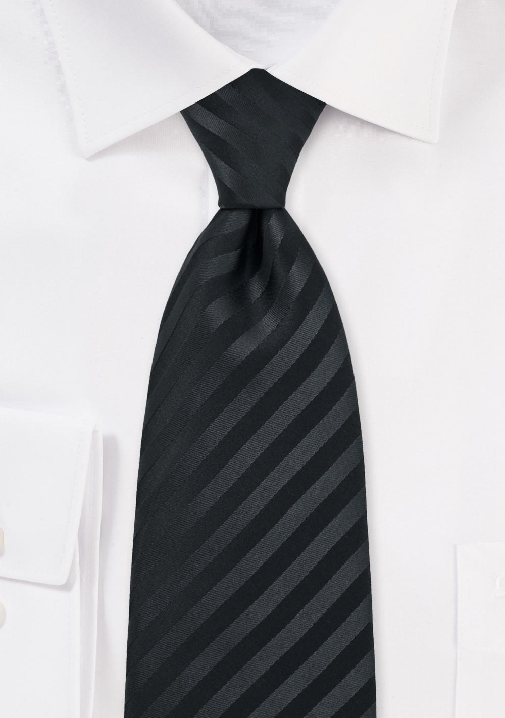 Elegant Black Tie for Kids