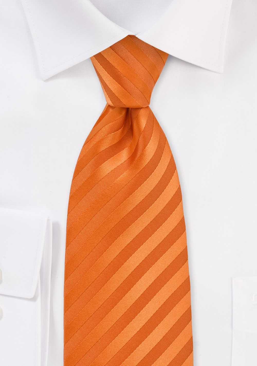 Bright Orange Kids Tie
