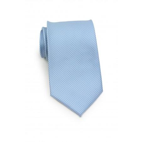 Grenadine Textured Kids Neck Tie in Baby Blue