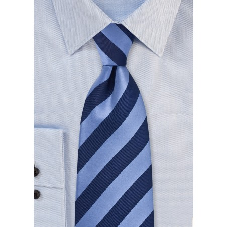 Elegant Navy Tie in Kids Length