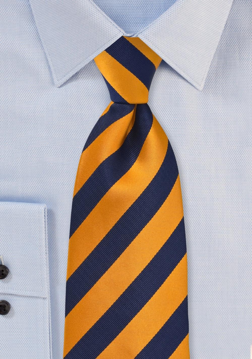 classic Black and White XL Necktie
