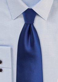 Kids Tie in Solid Royal Blue