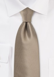 Taupe Colored Kids Necktie