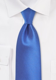 Nautical Blue Summer Tie in XL