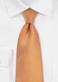 Summer Tie in Tangerine Orange