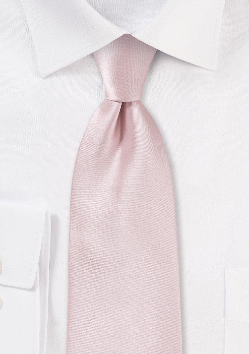 Elegant Men's Tie in Blush
