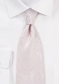 Blush Paisley Kids Necktie