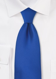 Bright Azure-Blue Necktie