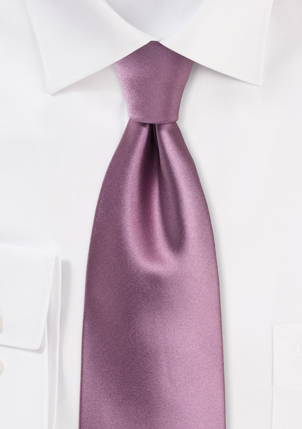 Purple Rose Kids Tie