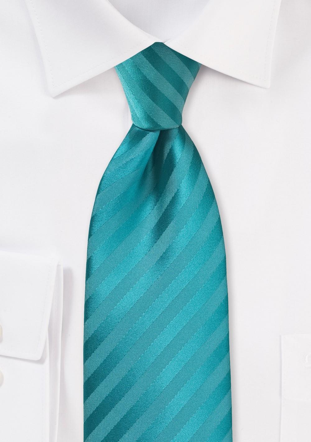 Oasis Striped Kids Length Necktie