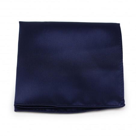 Dark Royal Blue Pocket Square