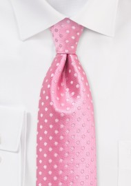 Bright Confetti Pink Mens Tie