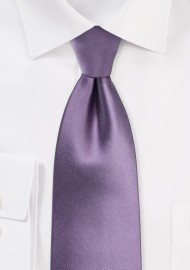 Wisteria Color Tie in Kids Length