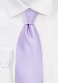 Soft Lavender Solid Colors Tie