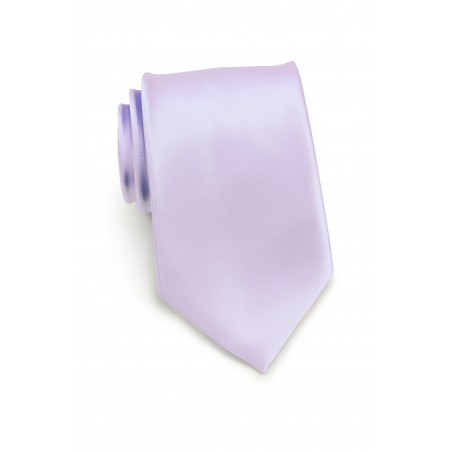 Kids Tie in Soft Lavender