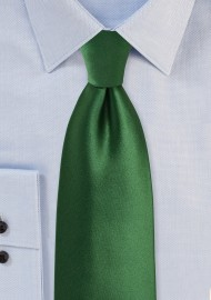 Forest Green Colored Necktie